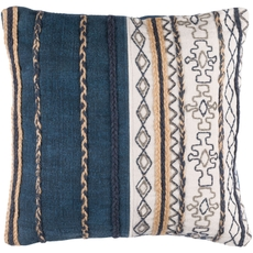 Surya Holston in Navy Accent Pillow