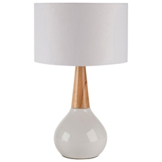 Surya Kent Table Lamp with Round Base