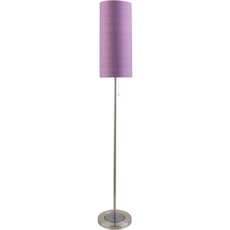 Surya Kyoto Floor Lamp with Purple Shade