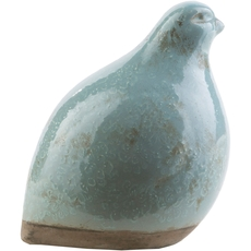 Surya Leclair 6.5 Inch Ceramic Bird