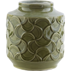 Surya Loyola 8 Inch Table Vase in Forest