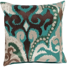 Surya Radiant Swirl in Sea Foam Accent Pillow