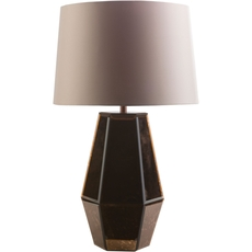 Surya Ryden 14 Inch Table Lamp in Copper