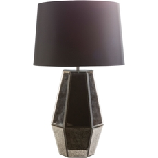 Surya Ryden 14 Inch Table Lamp in Pewter