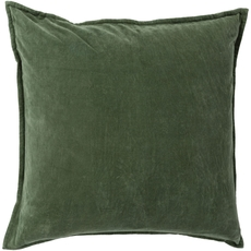 Surya Smooth Velvet in Emerald Accent Pillow