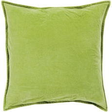 Surya Smooth Velvet in Olive Accent Pillow