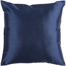 Surya Solid Luxe in Cobalt Accent Pillow