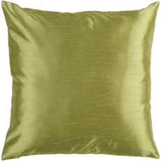 Surya Solid Luxe in Olive Accent Pillow