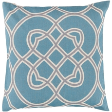 Surya Stay Connected in Blue Accent Pillow