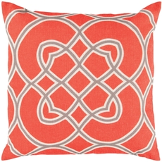 Surya Stay Connected in Poppy Accent Pillow