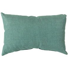 Surya Stunning Solid  Cover in Teal Accent Pillow