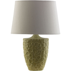 Surya Thistlewood Table Lamp in Green