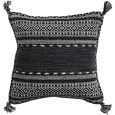 Surya Trenza in Charcoal Accent Pillow