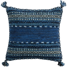Surya Trenza in Cobalt Accent Pillow