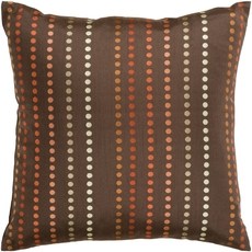 Surya Vertical Connect the Dots Accent Pillow