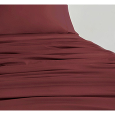 SHEEX Experience California King Sheet Set in Burgundy