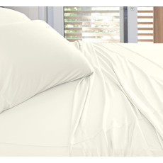 SHEEX Experience California King Sheet Set in Ivory