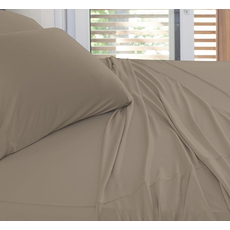 SHEEX Experience California King Sheet Set in Taupe