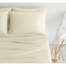 SHEEX Luxury Copper King Sheet Set in Ivory