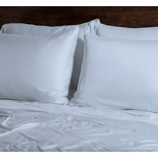 SHEEX EcoSHEEX Bamboo Orgin King Pillowcase Pair in Light Blue