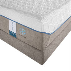 "Queen TEMPUR-Cloud Supreme Breeze Mattress Only SDMB011845 - Scratch and Dent Model ""As-Is"""