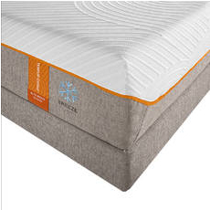 Split King TEMPUR-Contour Elite Breeze Mattress