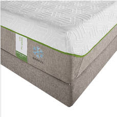 "TEMPUR-Flex Supreme Breeze Queen Mattress Only OVML031872 - Clearance Model ""As Is"""
