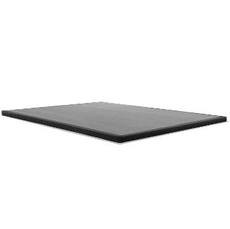 Tempurpedic Flat Ultra Low Profile Charcoal Box Spring Queen Size