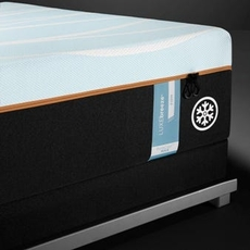 Tempurpedic Tempur Luxe Breeze Firm 13.2 Inch King Mattress Only SDMB022008 - Scratch and Dent Model ''As-Is''