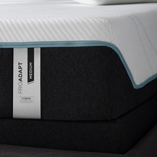 Tempurpedic Tempur Pro Adapt Medium Hybrid 12 Inch Queen Mattress Only SDMB032019 - Scratch and Dent Model ''As-Is''