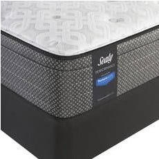 Queen Sealy Posturepedic Response Performance Santa Paula IV Plush Euro Top Mattress
