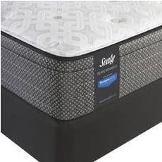 Queen Sealy Posturepedic Response Performance Santa Paula IV Cushion Firm Euro Top Mattress