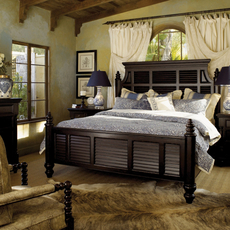 Tommy Bahama Kingstown Malabar King Size Panel Bed