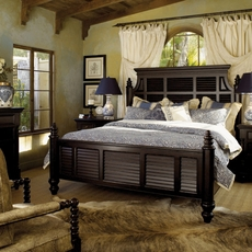 Tommy Bahama Kingstown Malabar Cal King Size Panel Bed