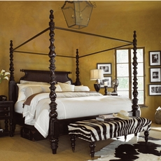 Tommy Bahama Kingstown Sovereign King Size Poster Bed