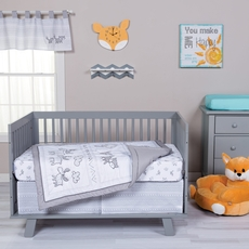 Trend Lab Aztec Forest 3 Piece Crib Bedding Set