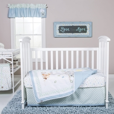 Trend Lab Forest Tales 6 Piece Crib Bedding Set