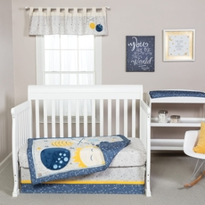 Trend Lab Galaxy 3 Piece Crib Bedding Set