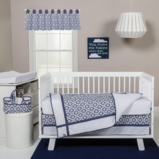 Trend Lab Hexagon 3 Piece Crib Bedding Set