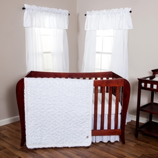 Trend Lab Marshmallow 3 Piece Crib Bedding Set