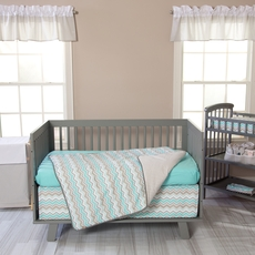 Trend Lab Seashore Waves 3 Piece Crib Bedding Set