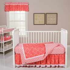 Trend Lab Shell 3 Piece Crib Bedding Set