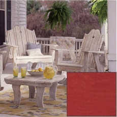 Clearance Uwharrie Chair Nantucket 6-Piece Outdoor Set in Wash Rustic Red OVFN081901