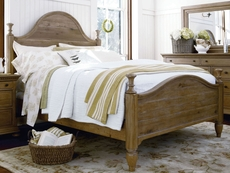 Paula Deen Down Home Bed in Oatmeal Finish