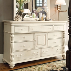 Paula Deen Home Door Dresser in Linen Finish