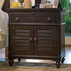 Paula Deen Home Door Nightstand in Tobacco Finish