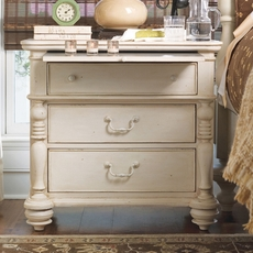 Paula Deen Home Drawer Nightstand in Linen Finish