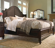 Paula Deen Home Steel Magnolia Bed in Tobacco Finish