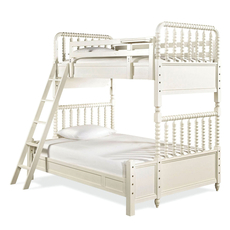 Universal Smartstuff Bellamy Vintage Twin Over Full Storage Bunk Bed