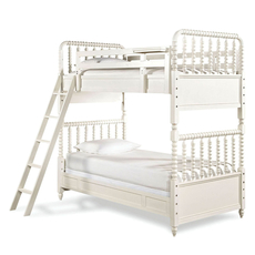 Universal Smartstuff Bellamy Vintage Twin Size Bunk Bed with Trundle